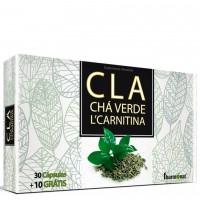CLA + CHÁ VERDE + L´CARNITINA
